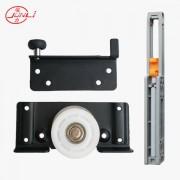 JL-068 Soft-closing Double Track Wardrobe Sliding Door Roller