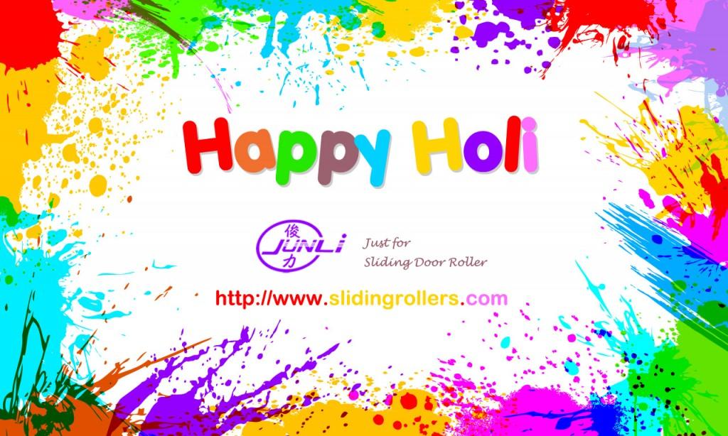 Happy Holi - Junli Hardware