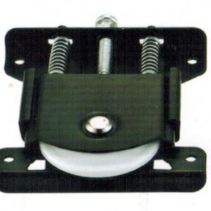 JL-024 Black Color Powder Coating Wardrobe Roller