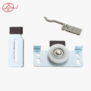 JL-008 Furniture Cabinet Sliding Door Fittings